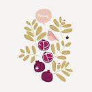 Granatapfel-Garten von jjsgarden
