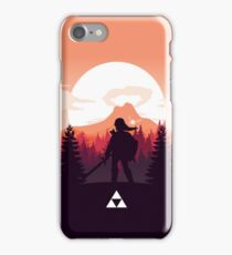 The Legend of Zelda (Orange) iPhone Case/Skin