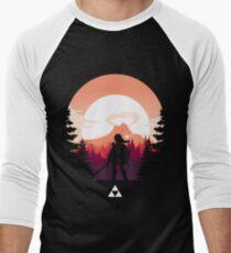 The Legend of Zelda (Orange) Men's Baseball ¾ T-Shirt