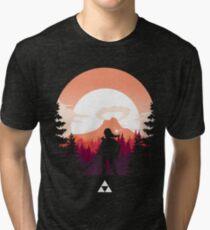 The Legend of Zelda (Orange) Tri-blend T-Shirt