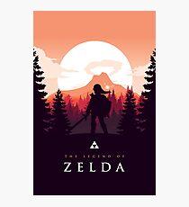 The Legend of Zelda (Orange) Photographic Print