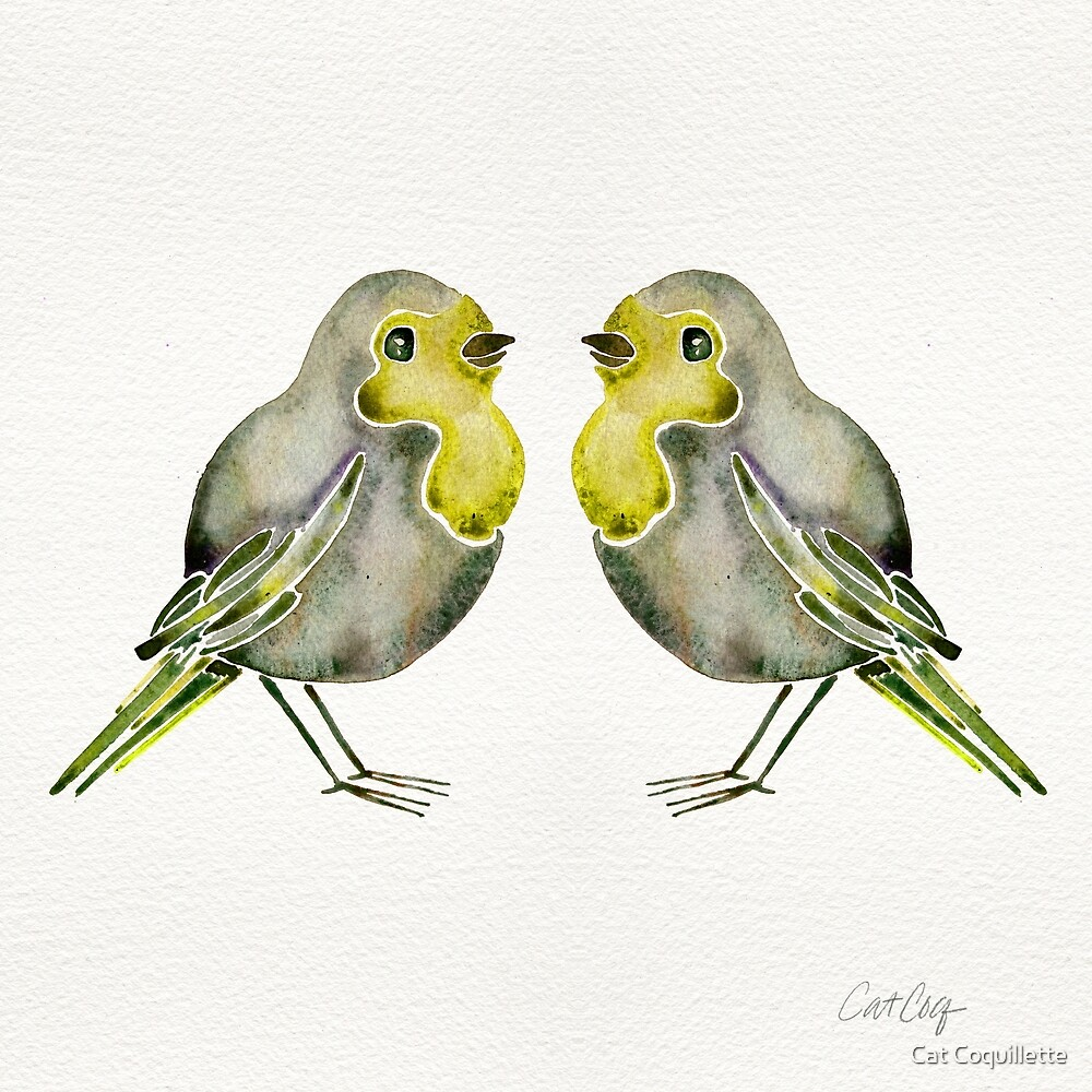 Little Yellow Birds by Cat Coquillette