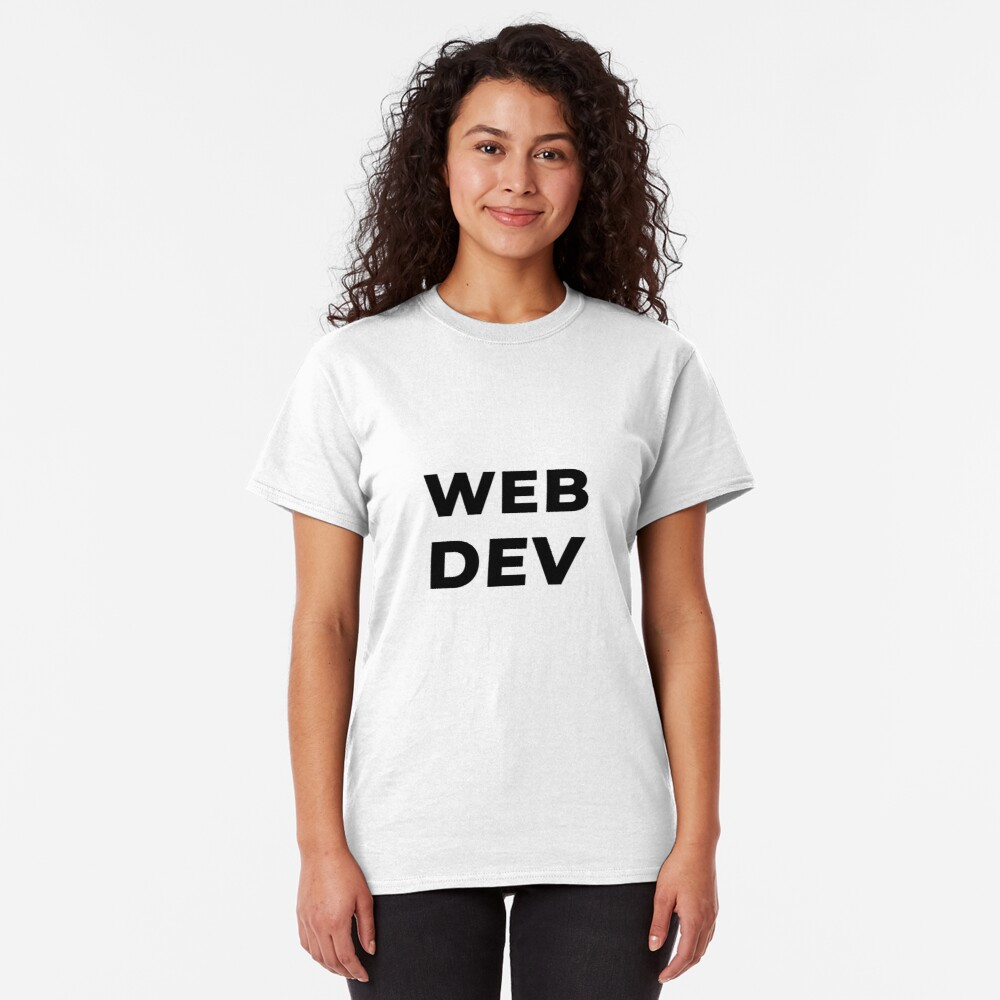 Web Dev (Inverted) Classic T-Shirt