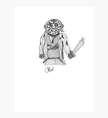 Jason - Movie Serial Killers Photographic Print