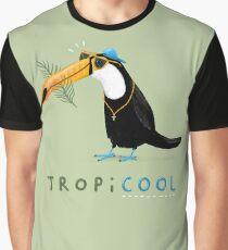 Tropicool Grafik T-Shirt