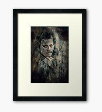 Castiel Framed Print