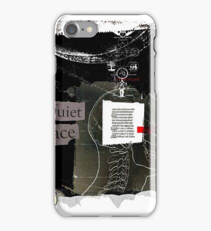 It's a quiet place iPhone Case/Skin