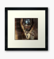 Are we bound by the way we're wired? Framed Print