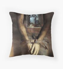 Are we bound by the way we're wired? Throw Pillow