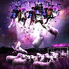 Cow Abduction Sheep  by SkylerJHill