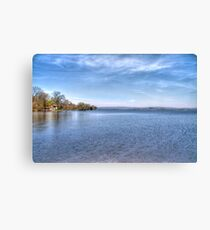Lake Wisconsin Canvas Print