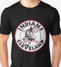 Go Indians Cleveland Go #redbubble #tshirt #hoodie #sticker #design #apparel #gift #pinterest Unisex T-Shirt