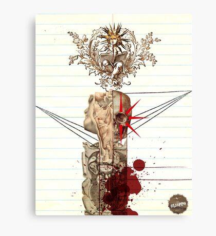 Un cadáver Canvas Print