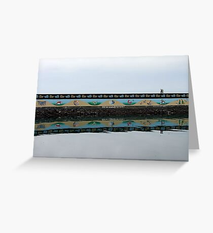 Ogden Point Seawall Greeting Card