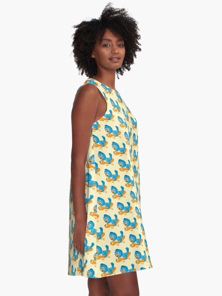 Alternate view of Time For Swimming A-Line Dress