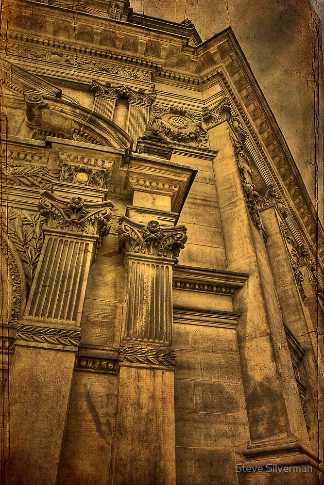Old Bank Building by Steve Silverman