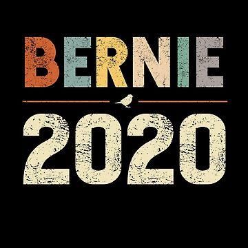 Bernie Sanders 2020 para la elección del presidente demócratas sentir la Berna de JapaneseInkArt