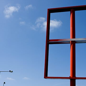 Red frame by Lowand