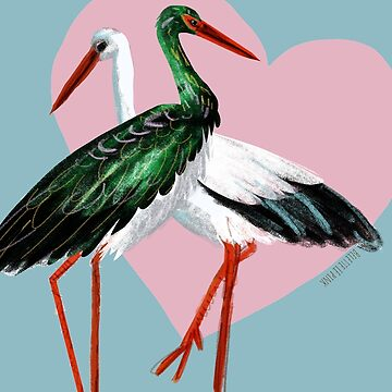 My stork my love by belettelepink