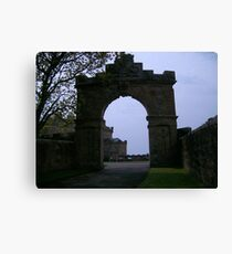 Arch at Culzean Castle, Ayrshire, Scotland Canvas Print