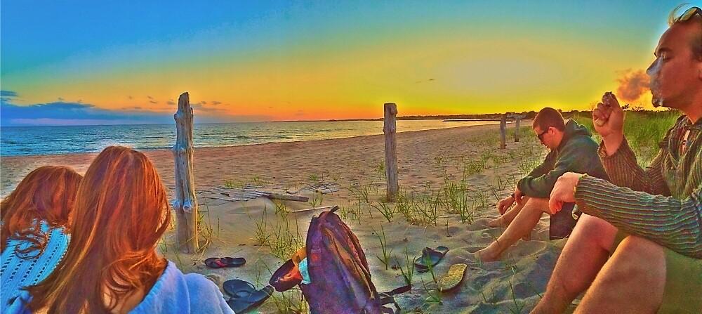 Hammo beach  by Hollygael