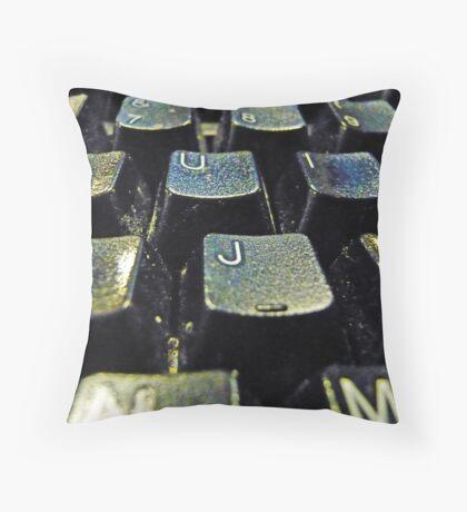 keyboard Throw Pillow