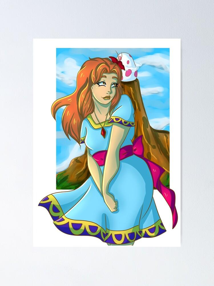 Marin The Legend Of Zelda Link S Awakening Poster