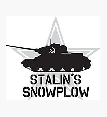 Stalin's Snowplow Photographic Print