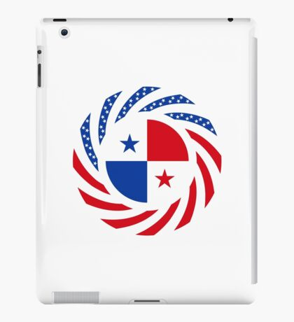 Panamanian American Multinational Patriot Flag Series iPad Case/Skin
