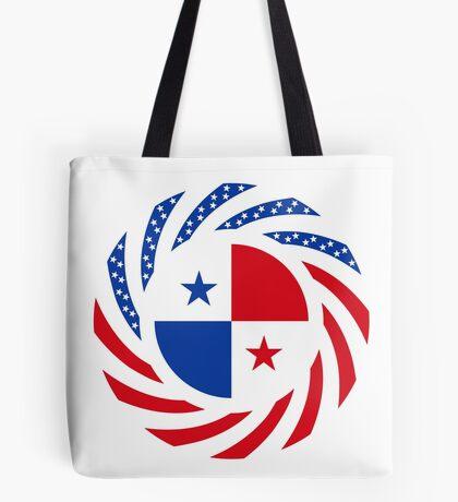 Panamanian American Multinational Patriot Flag Series Tote Bag