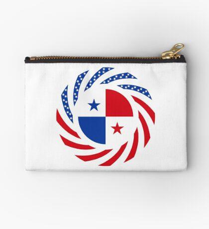 Panamanian American Multinational Patriot Flag Series Zipper Pouch