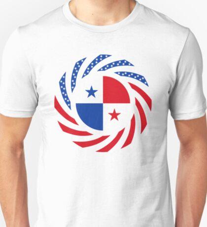 Panamanian American Multinational Patriot Flag Series T-Shirt
