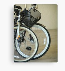 Bicycles Canvas Print