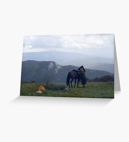 Mt Stirling - Victoria Greeting Card