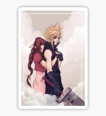 Cloud and Aerith Sticker