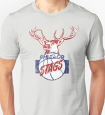 Chicago Stags - Blue/Red Unisex T-Shirt