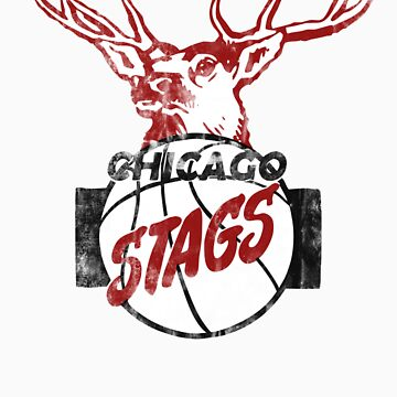 Chicago Stags - Black/Red by eLEkt