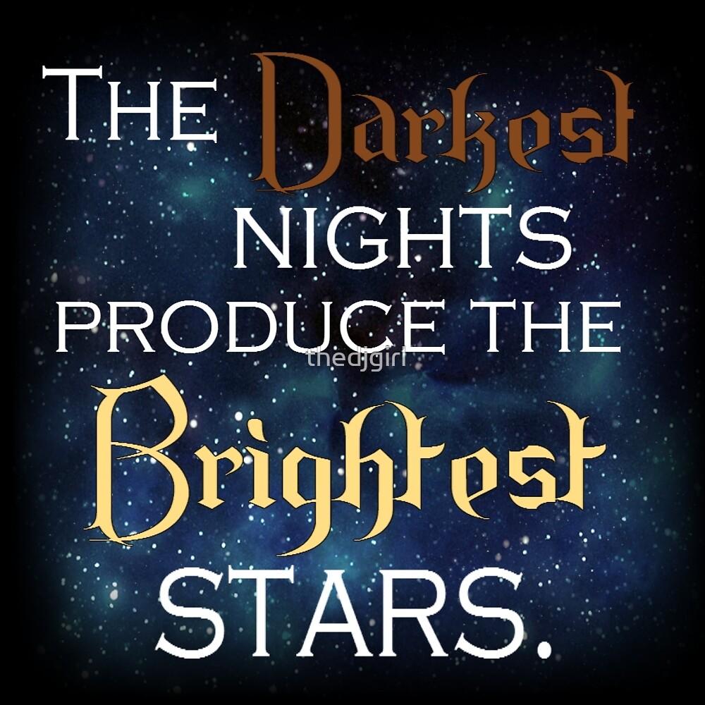 Dark Night, Bright Stars by thedjgirl