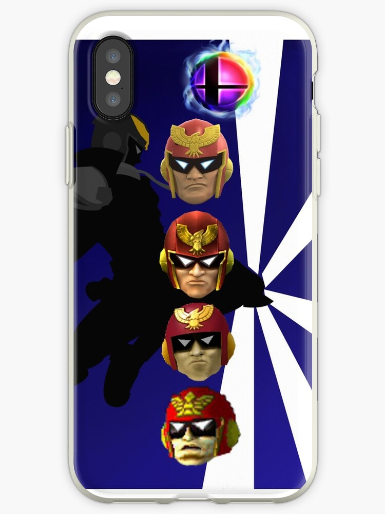 Captain Falcon Iphone Case by Goonsquad2525