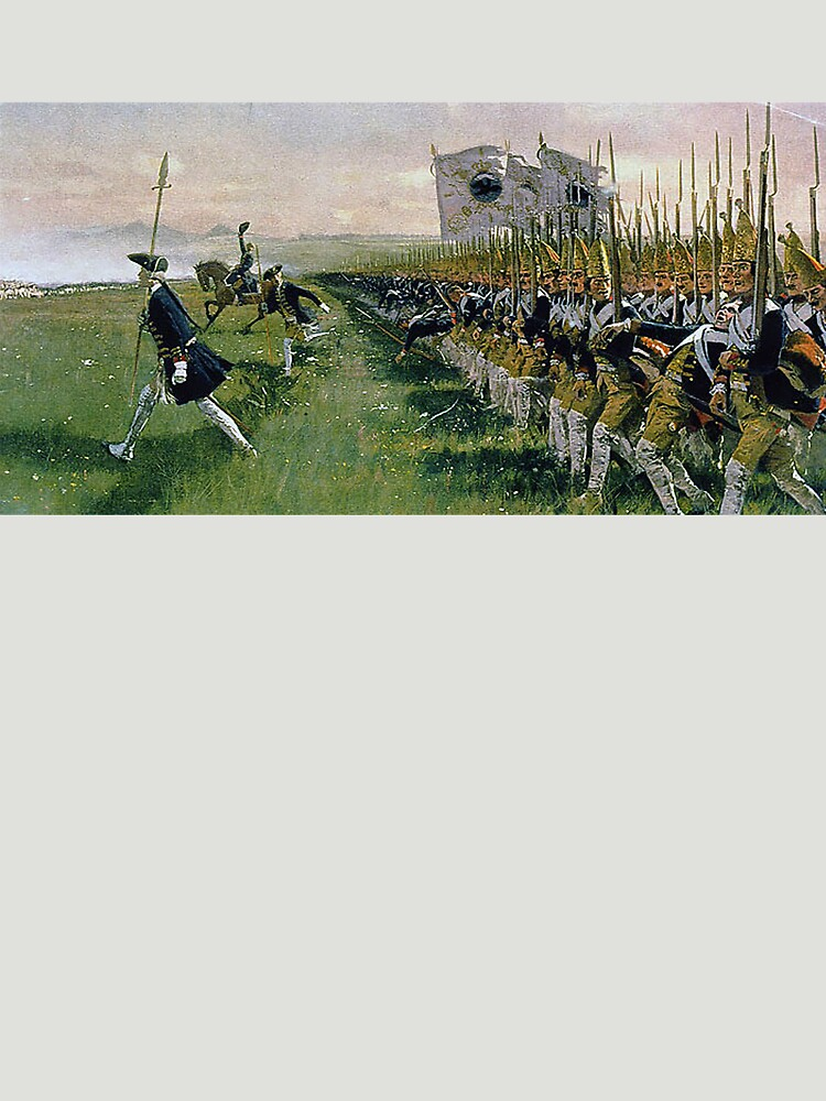 "Hohenfriedberg ""Attack of Prussian Infantry""  by edsimoneit"