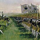 """Hohenfriedberg """"Attack of Prussian Infantry""""  by edsimoneit"""