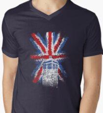 British Time Travellers Men's V-Neck T-Shirt
