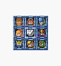 Megaman 5 boss select Art Board