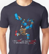 I am a Robot sent from the Future to teach Mankind how to Dance Unisex T-Shirt