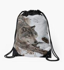 Anxious Drawstring Bag