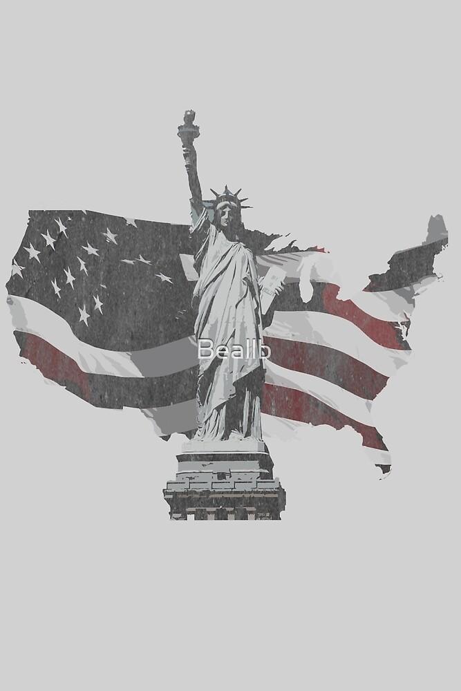 Vintage America  by Beallb
