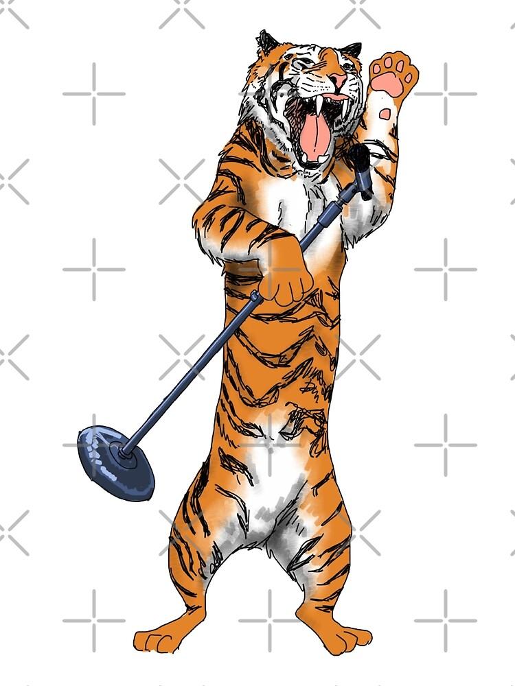 Treble Tiger by Catie Chapman