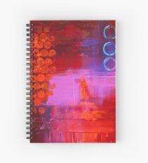 Trio - Red Spiral Notebook
