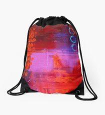 Trio - Red Drawstring Bag