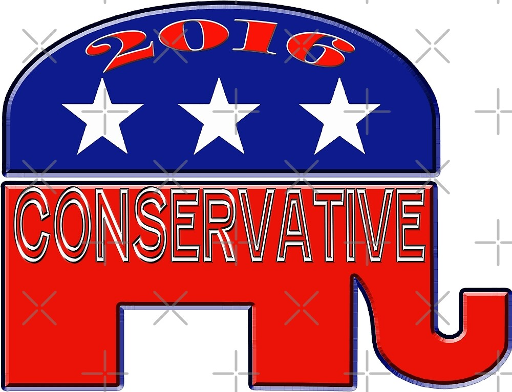 Republican Conservative by Buckwhite